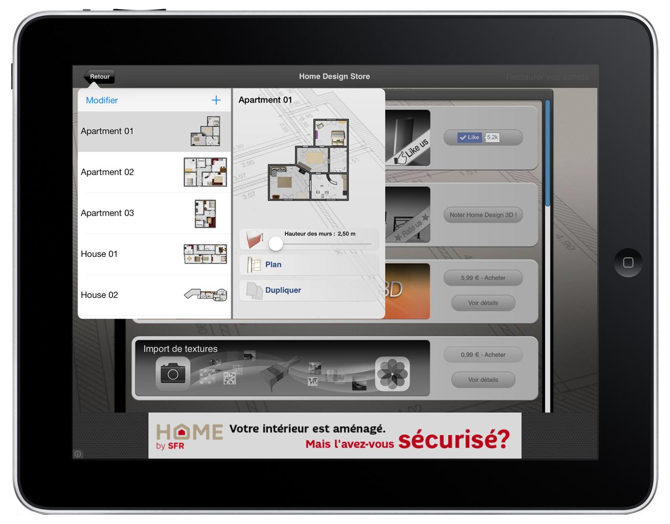 Livecad logiciel d 39 architecture 3d for Logiciel architecture interieur professionnel